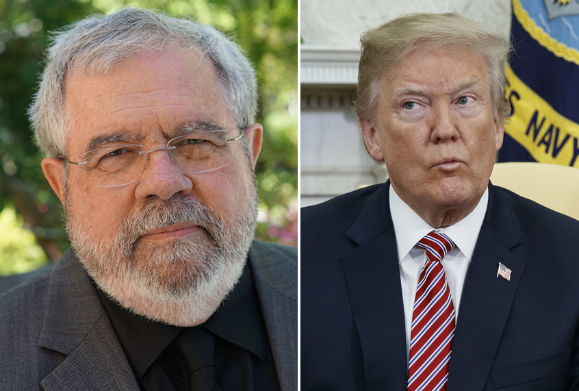 """Current Status: Pulitzer-winning reporter David Cay Johnston: """"The evidence suggests Trump is a traitor"""""""