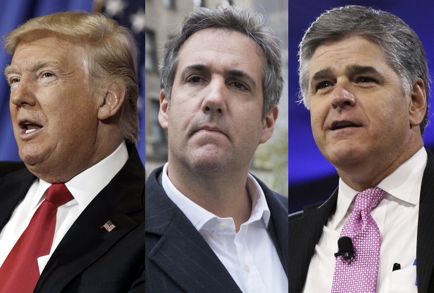 Max Miller: There's Collusion All Right; Trump, Hannity, And Cohen