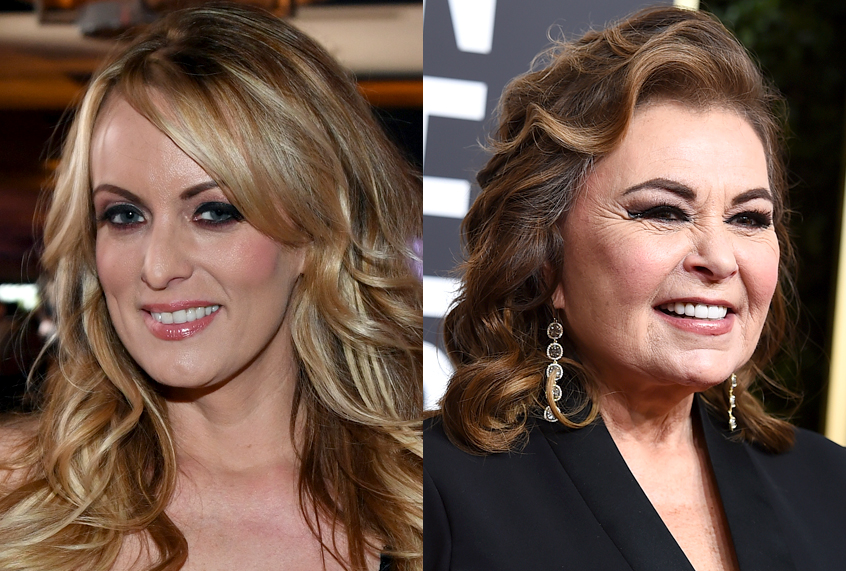 Stormy Daniels savagely takes down Roseanne Barrs