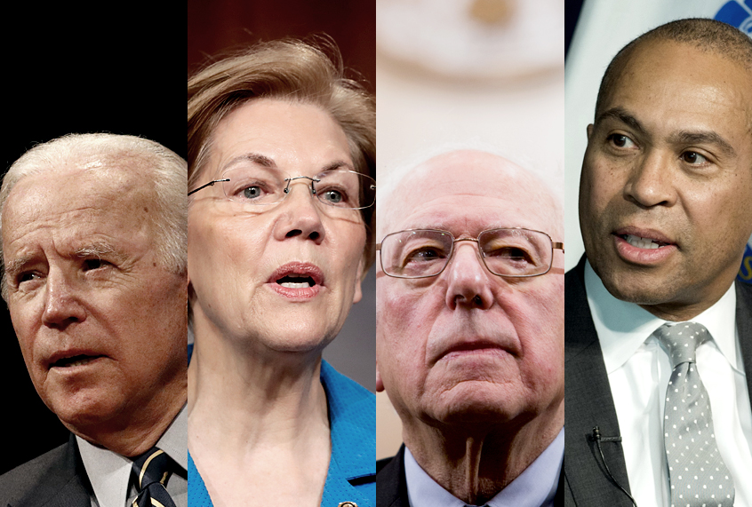 Barack Obama tries to shape the 2020 field: Bernie, Biden, Liz … and <i>who?</i>