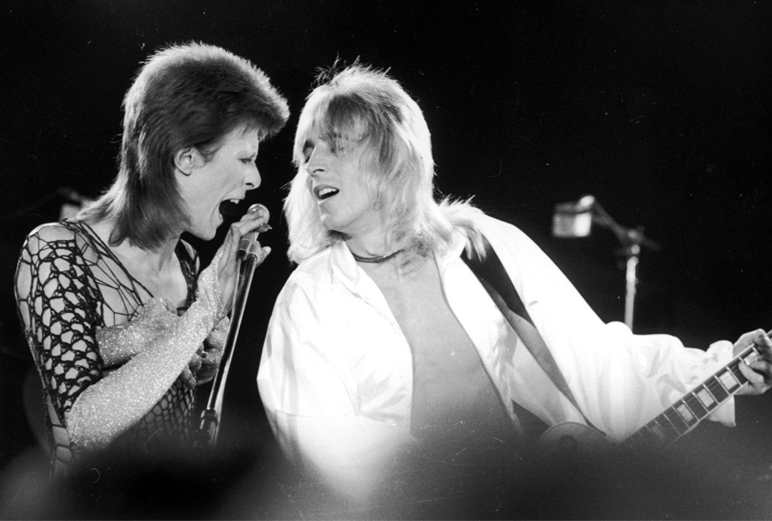 David Bowie's collaborator Mick Ronson remembered: