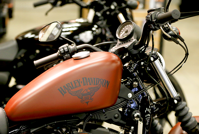 Trading my bicycle for a Harley: Learning to ride a