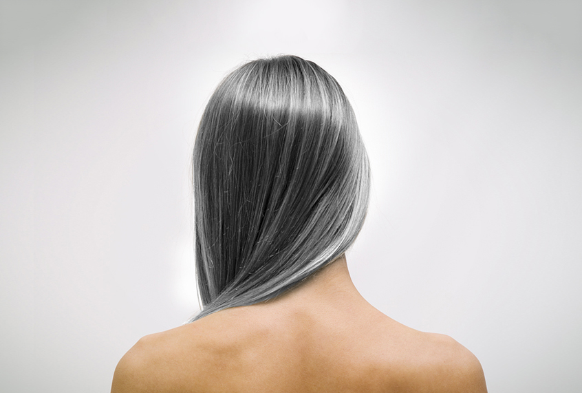 "When women stop coloring their gray hair: ""I felt naked. I ..."