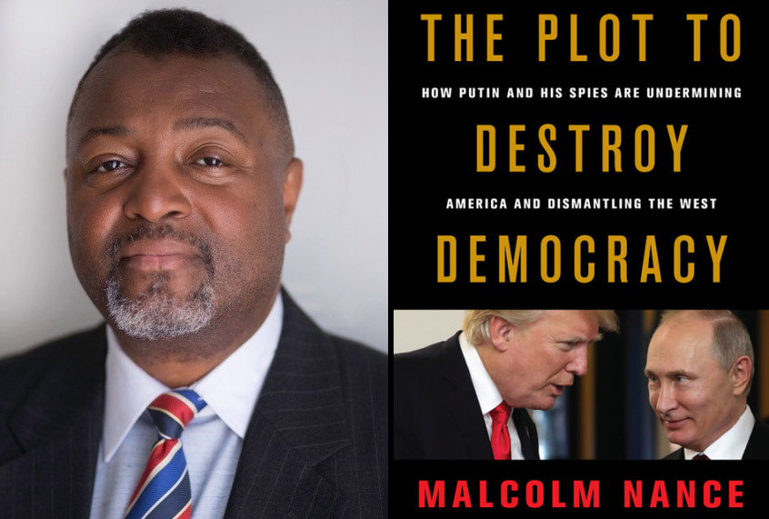 "Malcolm Nance on Trump: We're ""on the cusp"" of ""losing the American constitutional republ..."