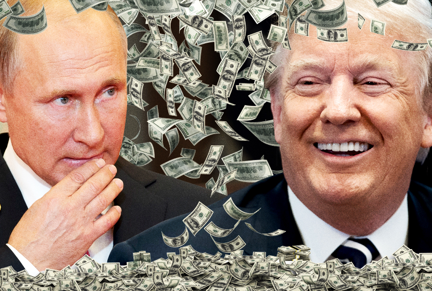 Why is Donald Trump so sweet on Vladimir Putin? It might just be personal financial gain