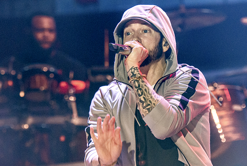 Eminem is back with