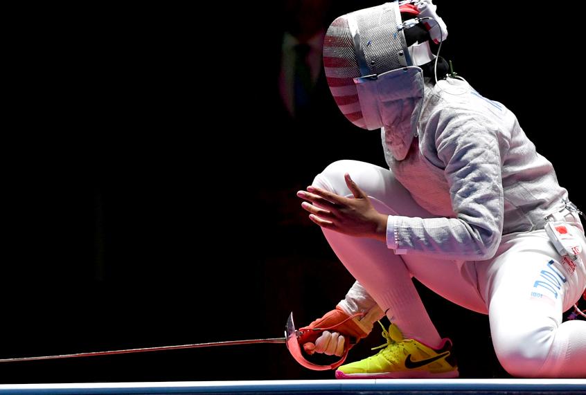 "Team USA fencer Ibtihaj Muhammad: ""I've been detained by U.S. customs and I�..."