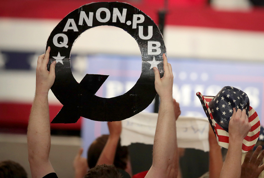 QAnon's true believers are devastated as the conspiracy theory goes