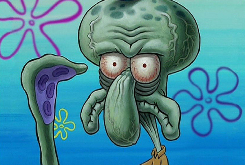 Squidward Tentacles, voice of millennial despair | Salon com