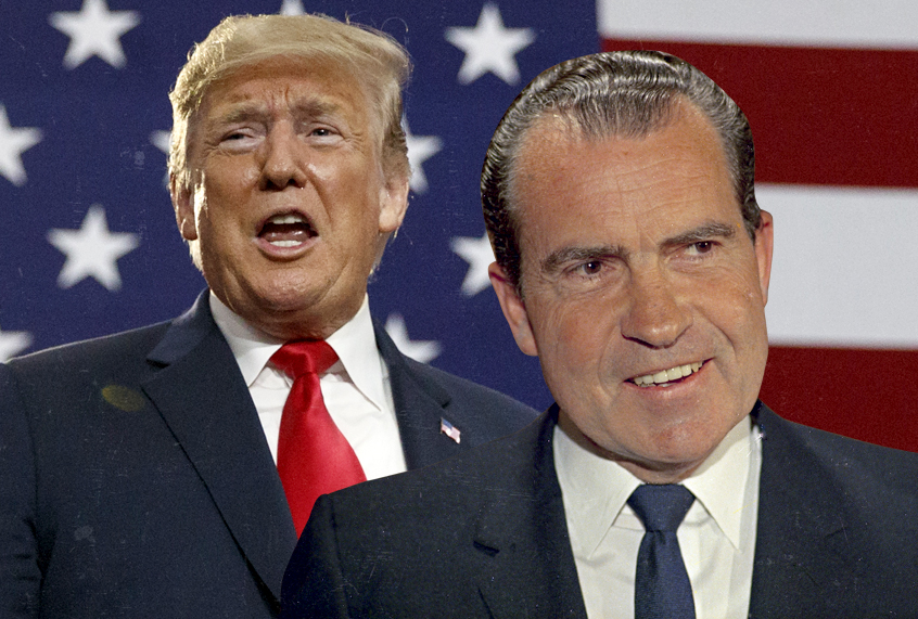 Counterpoint To Baron Cohen Bogus New >> Donald Trump And Richard Nixon Many Parallels But They Don