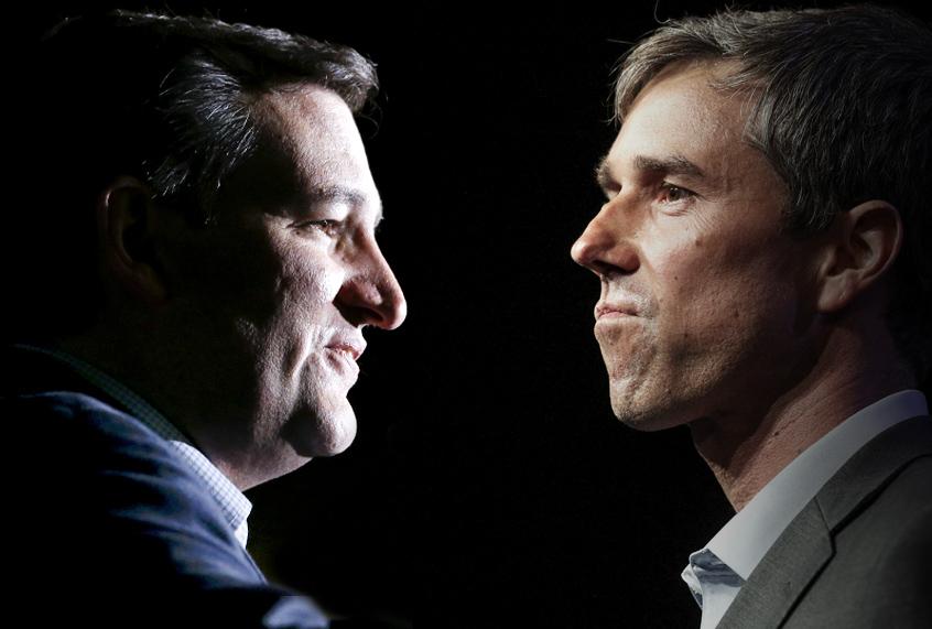 Texas Senator Ted Cruz posts solid lead over Democratic challenger Beto O'Rour...