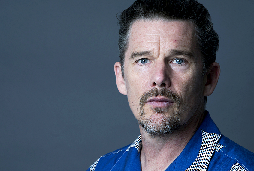Ethan Hawke on turning...