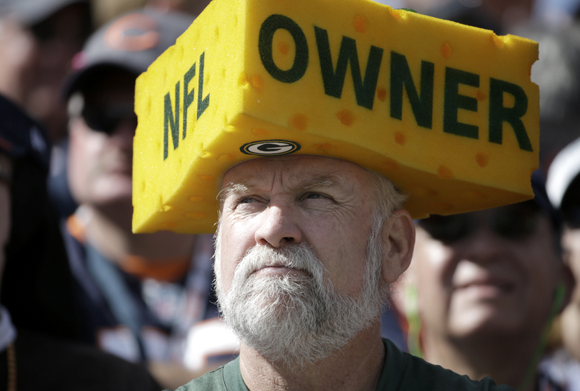 428ac98e1 Green Bay Packers fans love that their team doesn t have an owner — just  don t call it