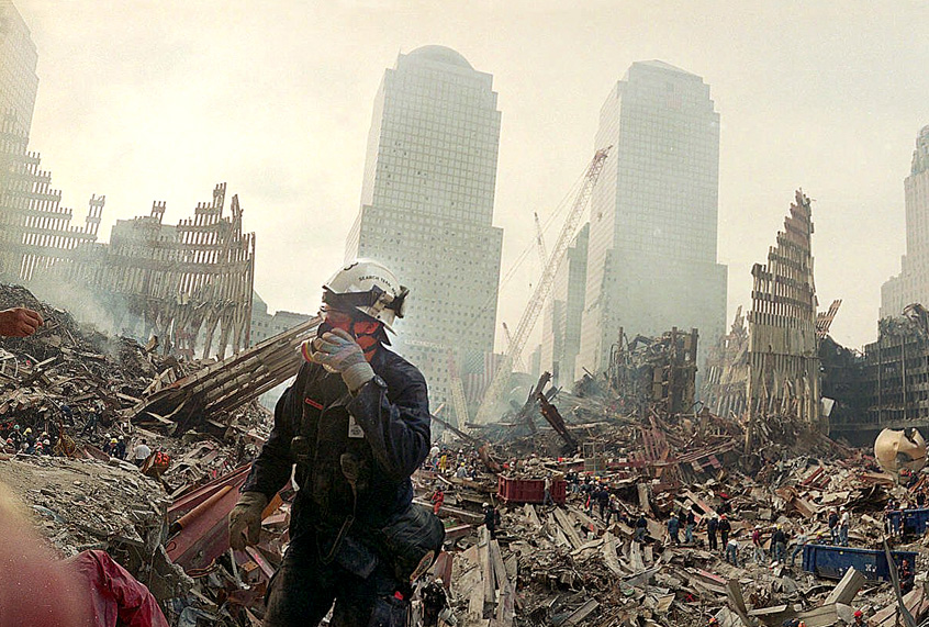 world trade center after attack