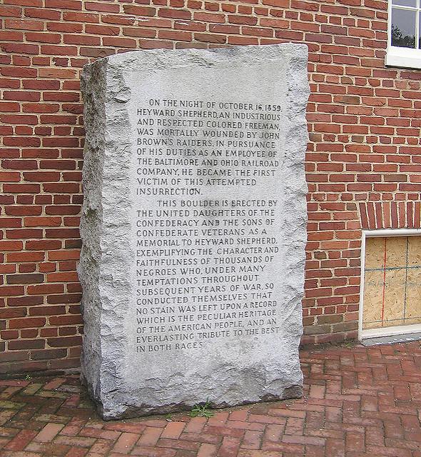 9684 Heyward Shepherd Monument - Harpers Ferry, WV