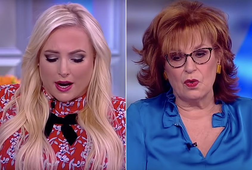 behar allegedly threatens to quit view after clash with mccain
