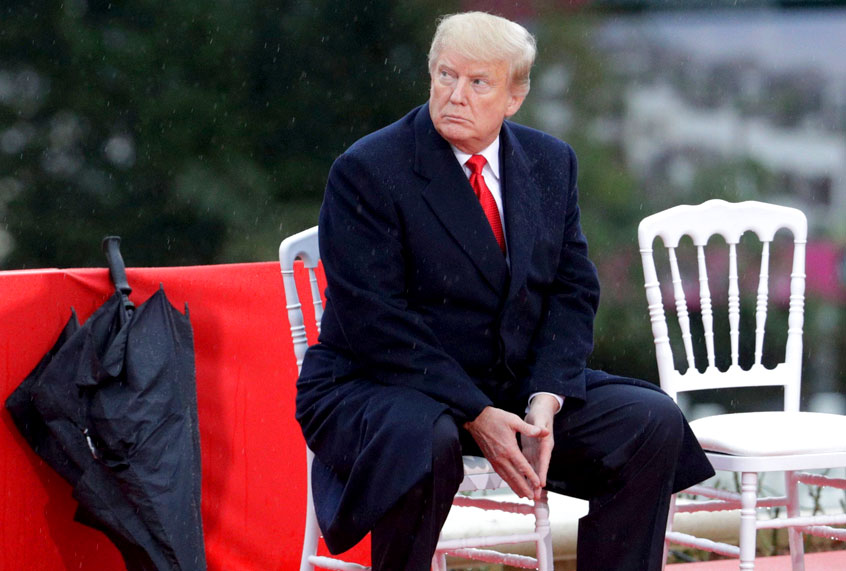 Image result for trump pouting