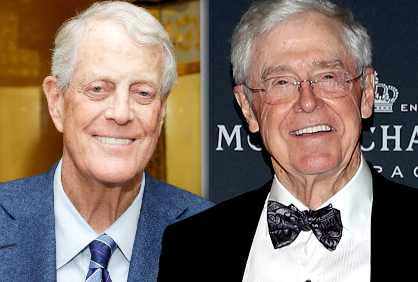 Charles David Koch We Know Who You Are >> Koch Brothers Are Watching You And New Documents Reveal Just How