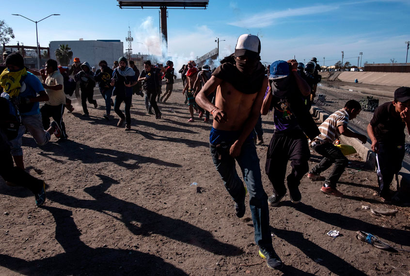 Disturbing Photos Of Migrants