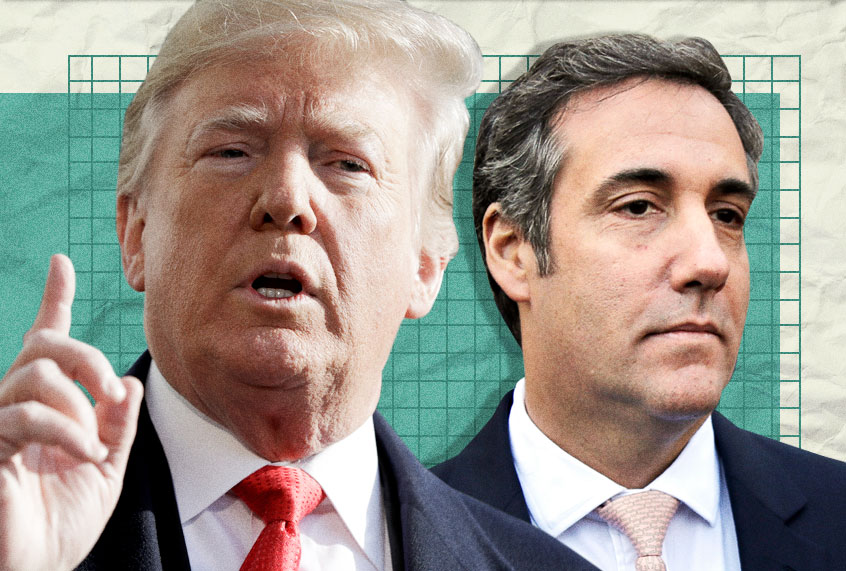 Michael Cohen's testimony contradicts at least two written statements Trump made to Robert Mueller