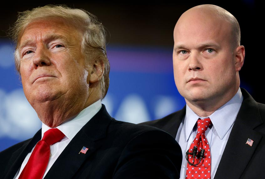 Donald Trump Is Suddenly Trying To Hide His Previous Relationship With Matt Whitaker