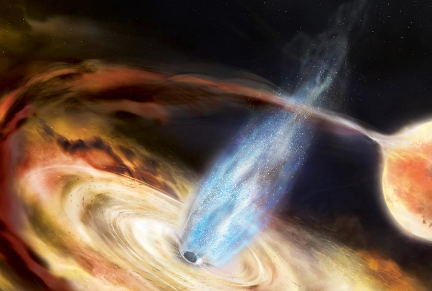 Scientists are on the verge of imaging a black hole's shadow