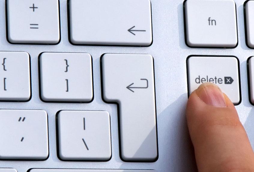 How to delete easy sex account