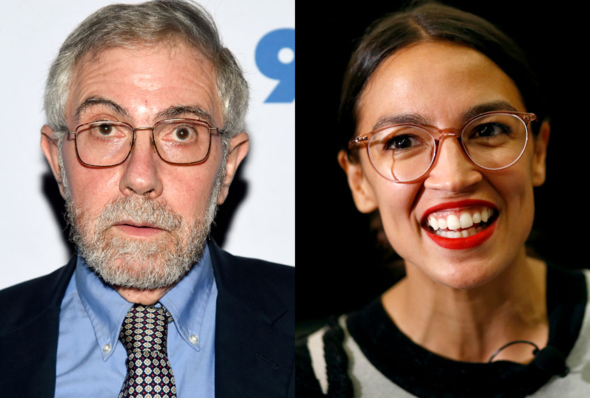 Paul Krugman shuts down right-wing attacks on Rep