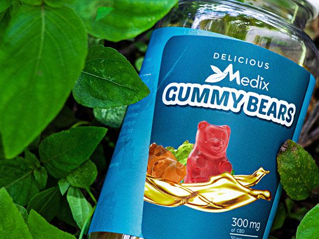 These CBD gummy bears might reduce stress | Salon com