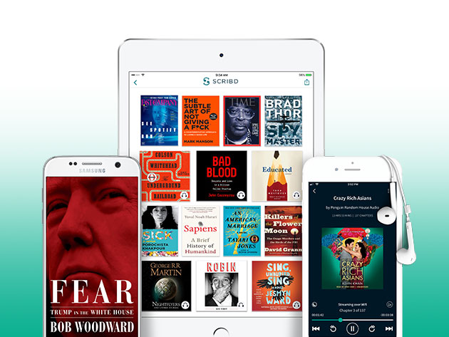 Make 2019 the year you read more with Scribd | Salon com
