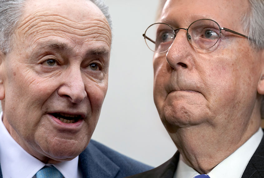 """Remarkably irresponsible"": Schumer rips McConnell soon after Pelosi announces coronavirus offer"