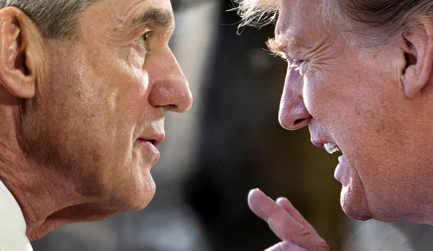 If Trump is worried about the end of Mueller's investigation, he's worrying about the wrong thing