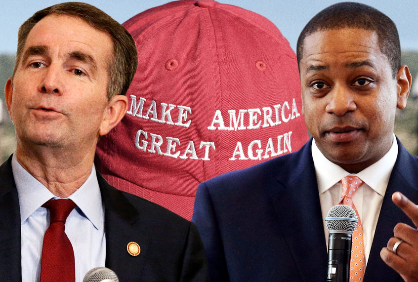 Republicans are reveling in the Virginia mess: But they're
