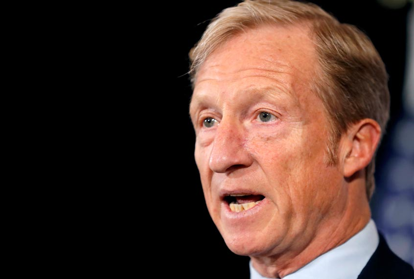 """Tom Steyer: """"Impeachment is a way to reaffirm our belief that everyone is accountable"""""""