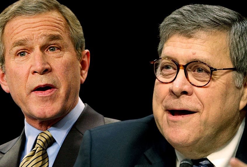 Bush Iraq Policy Summarized By Donald >> Bill Barr S Fake Mueller Report Is This Wmds In Iraq All Over Again
