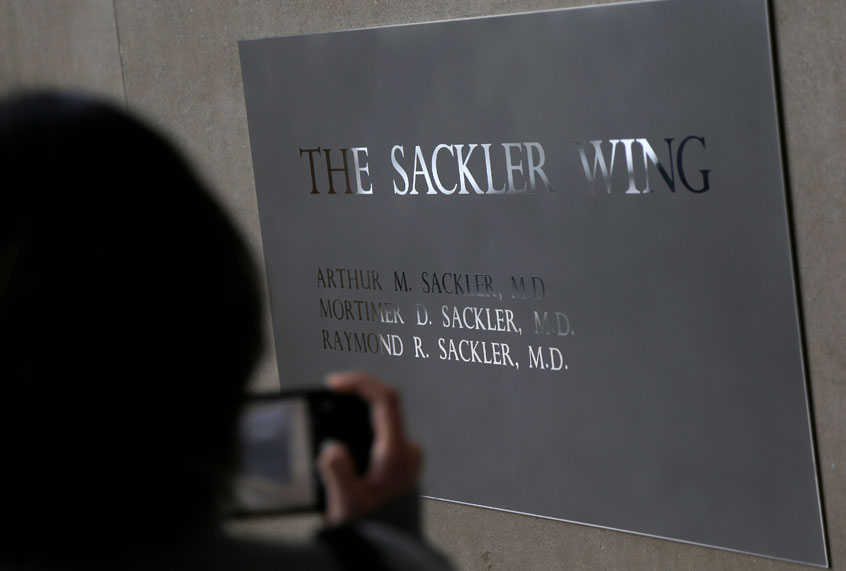 Dirty money and museums: Refusing Sackler family donations