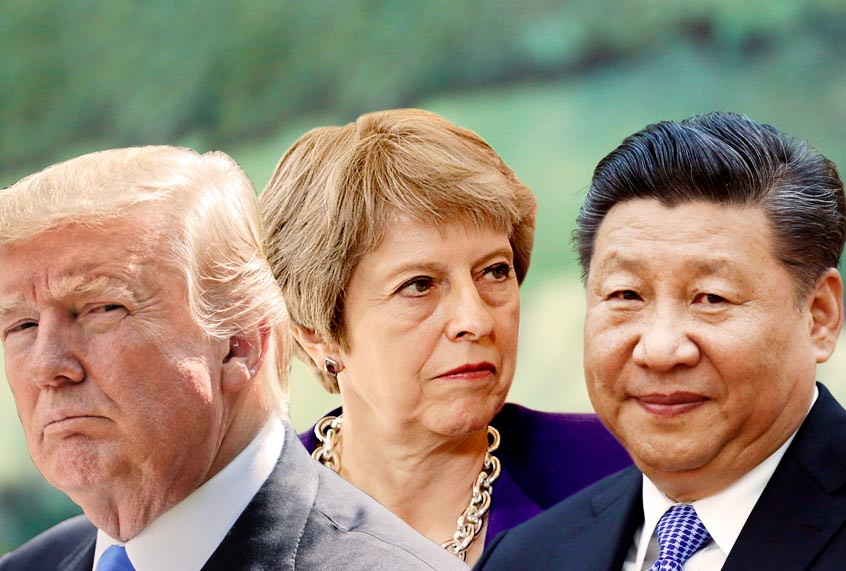 Britain is rethinking all of its foreign ties, not simply