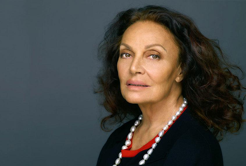 Diane Von Furstenberg Believes In Survival Stories The