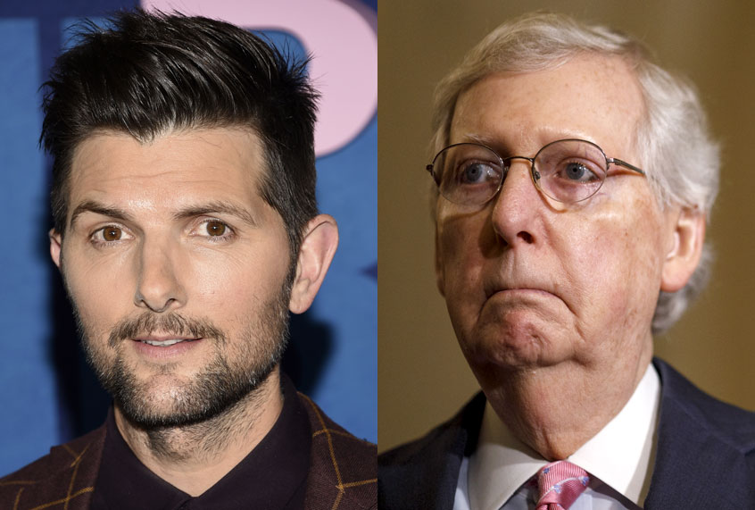 Adam Scott vs  Mitch McConnell: Who decides what a GIF is