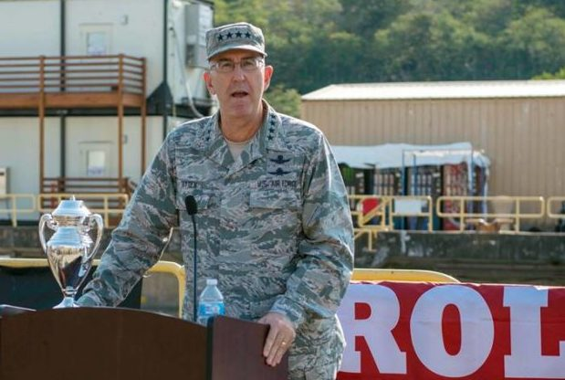 Army colonel accuses Gen  John Hyten, Joint Chiefs nominee, of