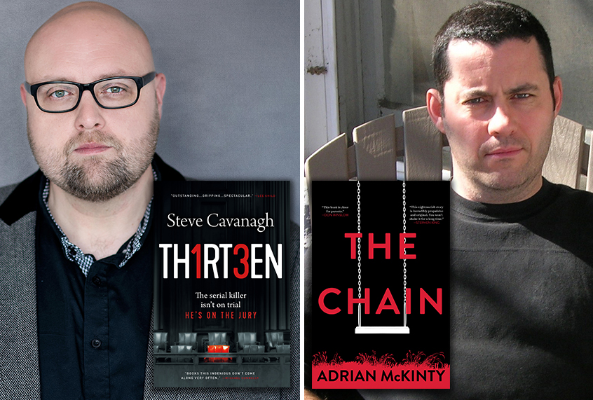 Growing Up On Easy Street Has Its Own >> Authors Steve Cavanagh And Adrian Mckinty How Growing Up In
