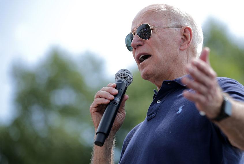 Joe Biden sounded like Ronald Reagan when pushing for