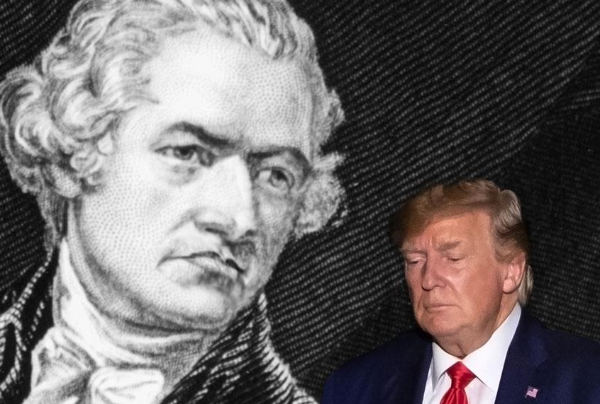 Donald Trump, Hamilton's nightmare | Salon com