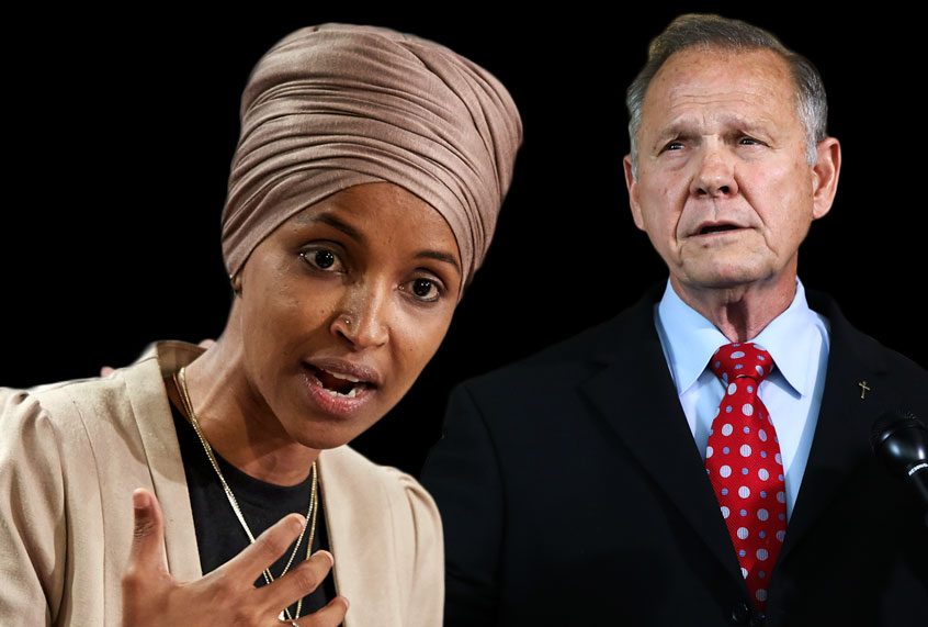 Roy Moore: 'I support' Ilhan Omar's expulsion — 'If they take an oath to the Koran – no, they should not serve in Congress'