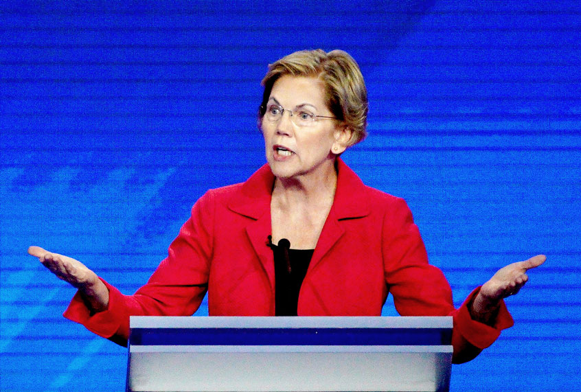 Warren makes President Trump's sister a target of her anti-corruption campaign: report