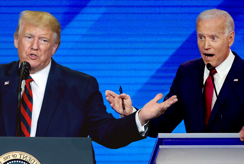 Election 2020: A full year of Trump and Biden babbling at each other? Please, let's not thumbnail