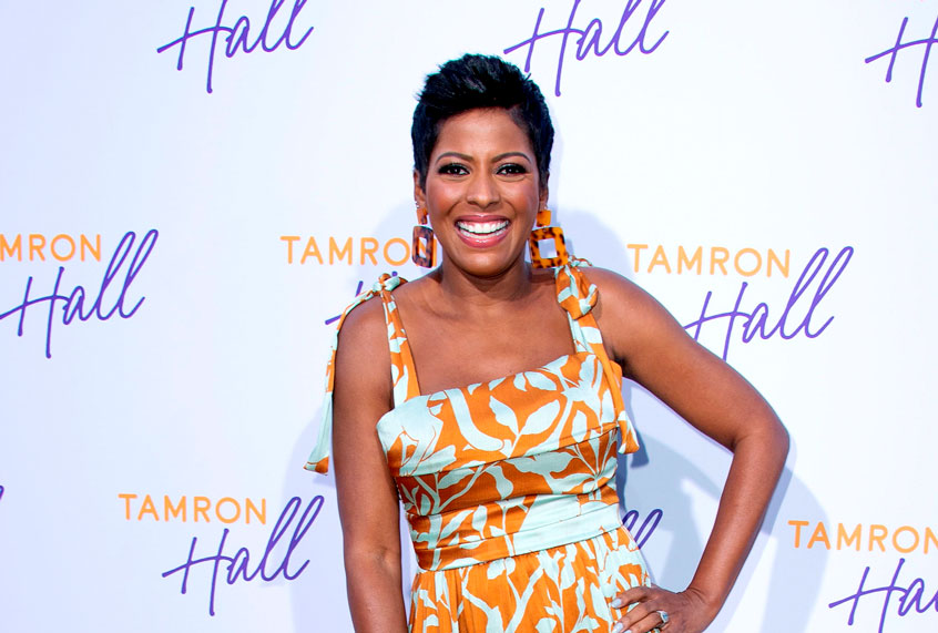 Tamron Hall is back, and she's ready to talk with America