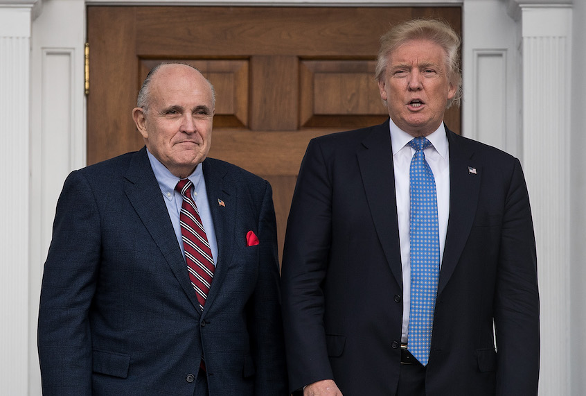 Trump contradicts his own impeachment defense by admitting that he sent Giuliani to Ukraine