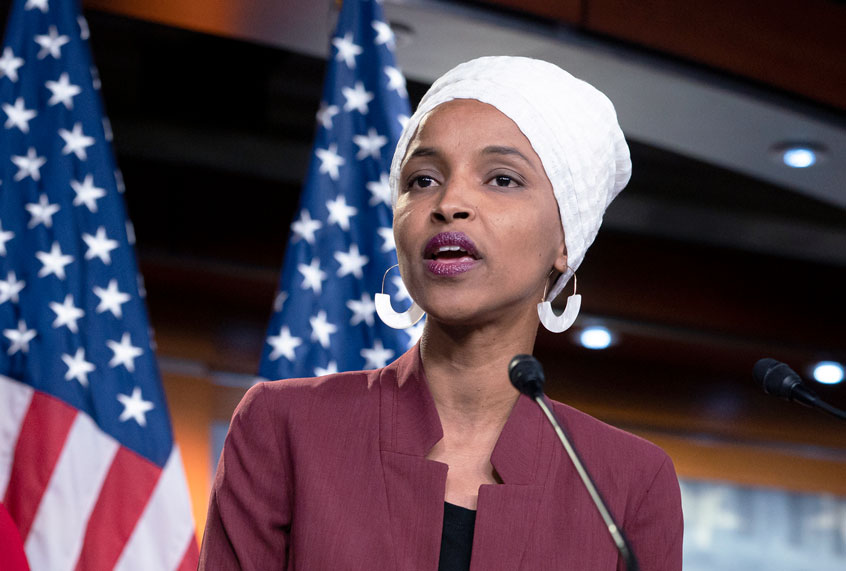 "Ilhan Omar unveils bold proposal for U.S. foreign policy ""deeply rooted in justice"""