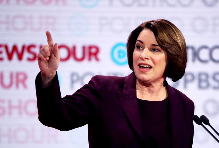 """Will Amy Klobuchar carry water for the """"worst company in the world""""?"""